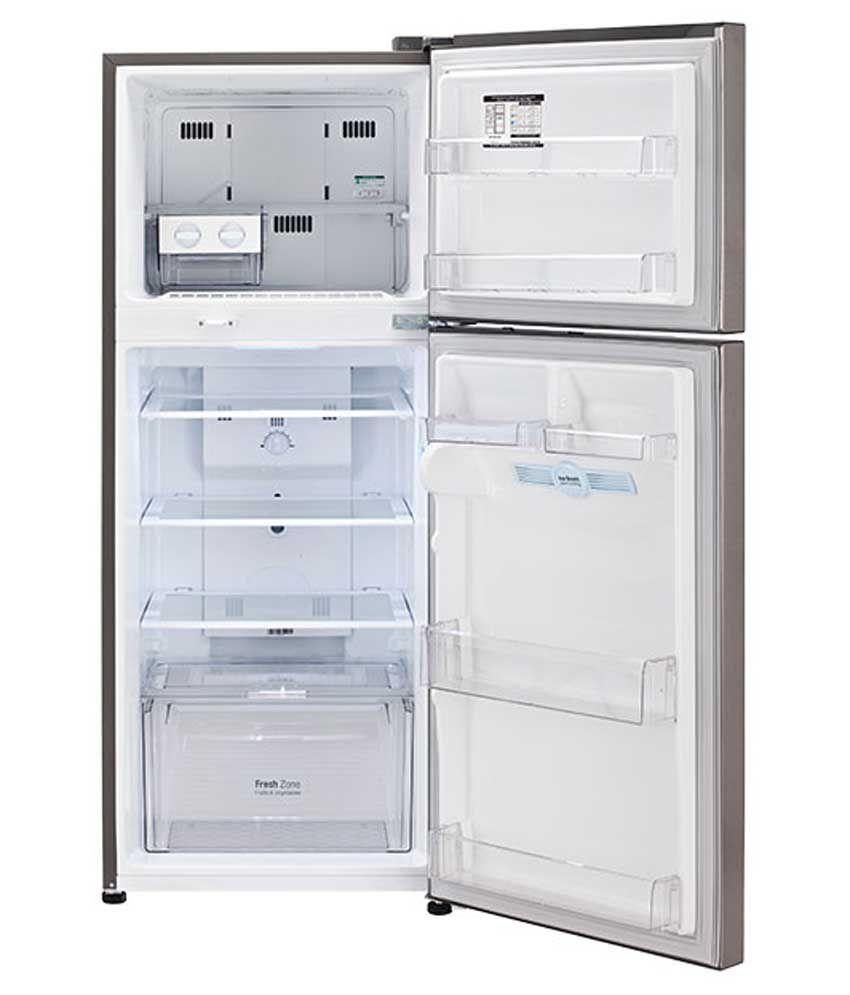 Image result for LG 260 Ltr 4 Star GL-I292RPZL Double Door Refrigerator