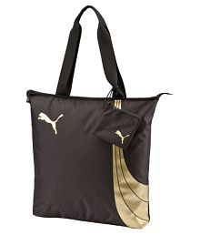 Puma Polyester Brown Shopping Bag