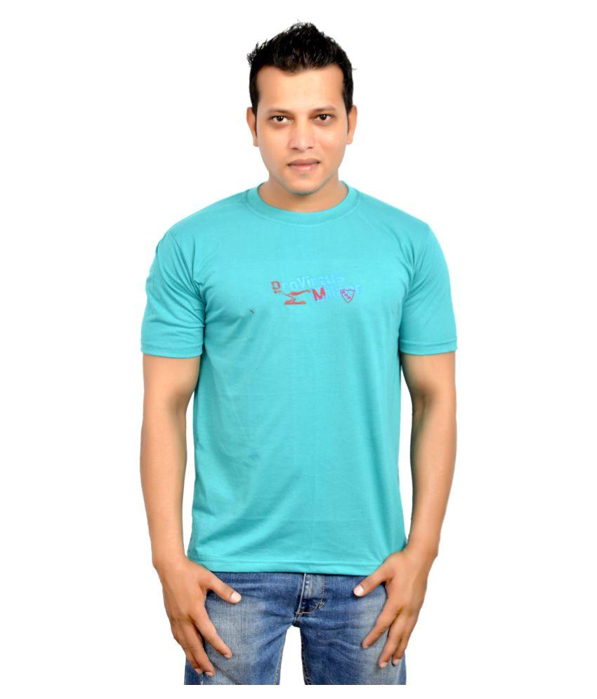 Fadoak Blue Round T-Shirt