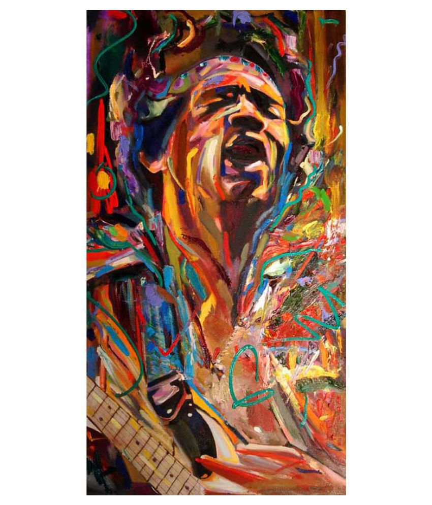 Tallenge The Spirit of Jimi Hendrix Paper Art Prints Without Frame Single Piece