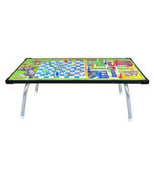 Tom & Jerry Multipurpose Gaming Table with Ludo, Slides & Ladders Game