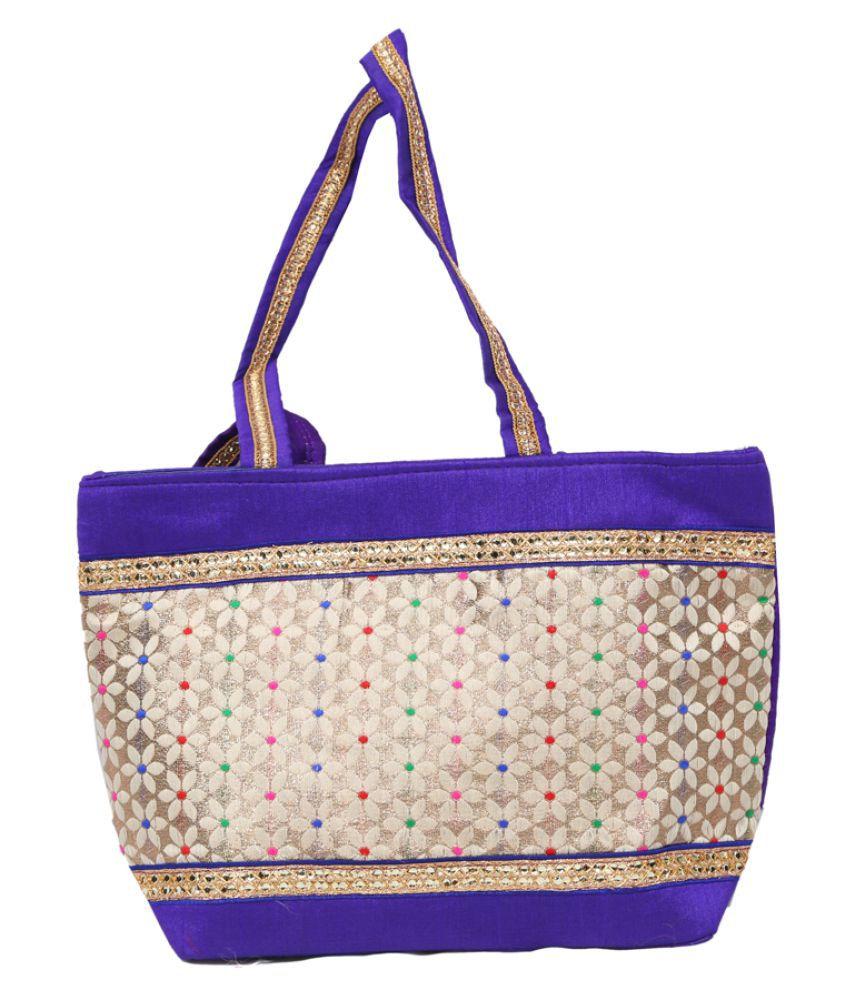 Kuber Industries Multi Fabric Shoulder Bag