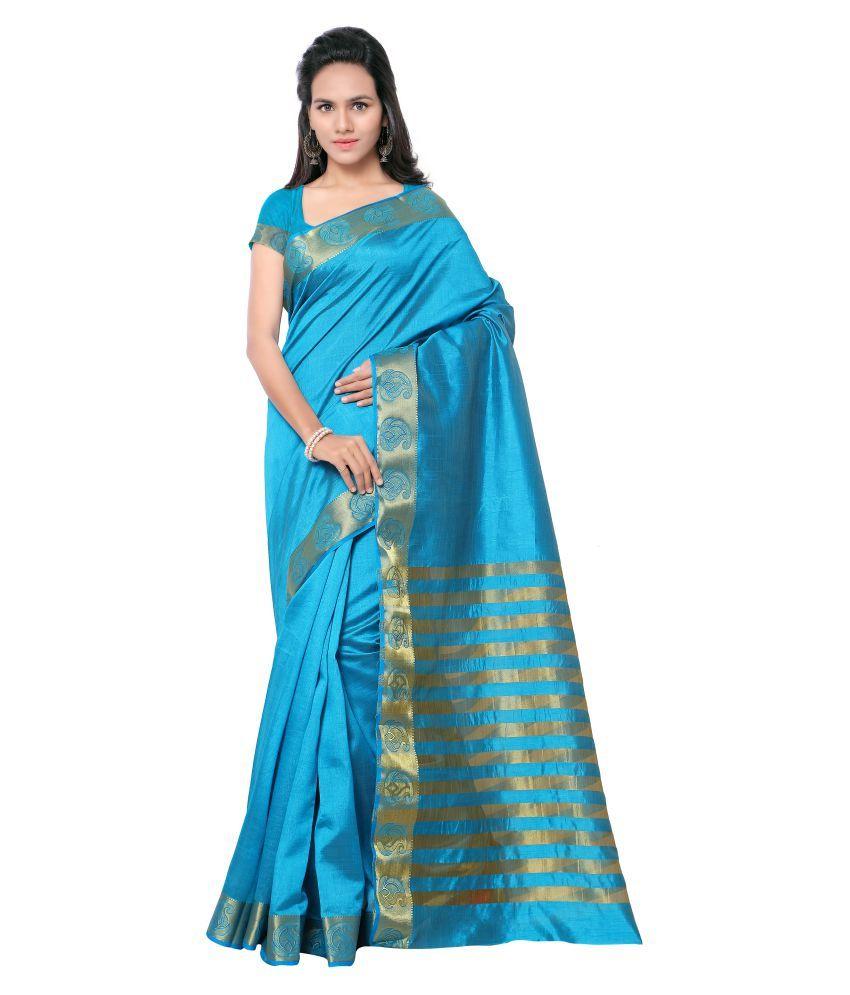 Minaxi Multicoloured Tussar Silk Saree