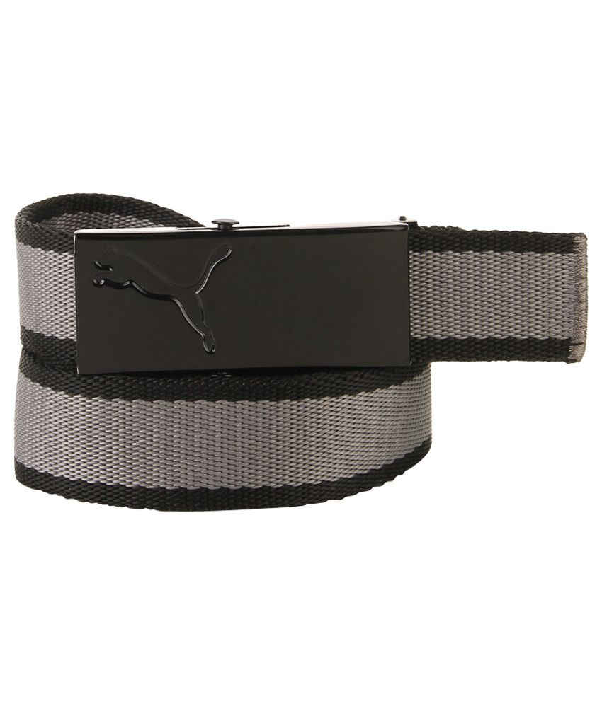 Puma Black Casual Belt For Men