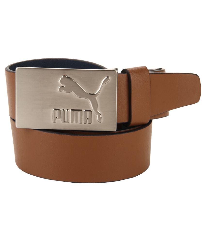 Puma Blue Casual Belt For Men