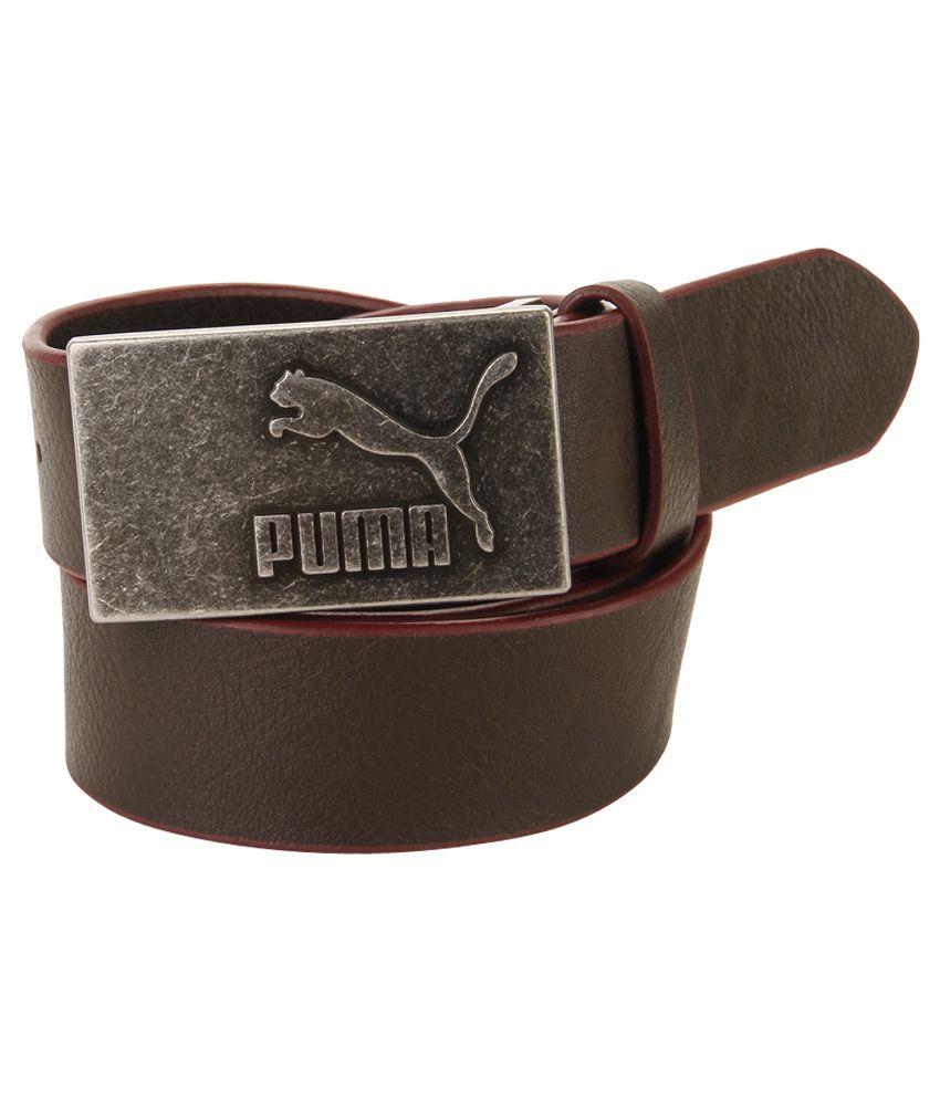 Puma Brown Casual Belt For Men