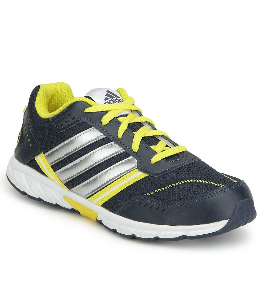 5f2f05ea56c9 Adidas Blue   Yellow A FAITO LT LACE K Sports Shoes Price in India- Buy Adidas  Blue   Yellow A FAITO LT LACE K Sports Shoes Online at Snapdeal