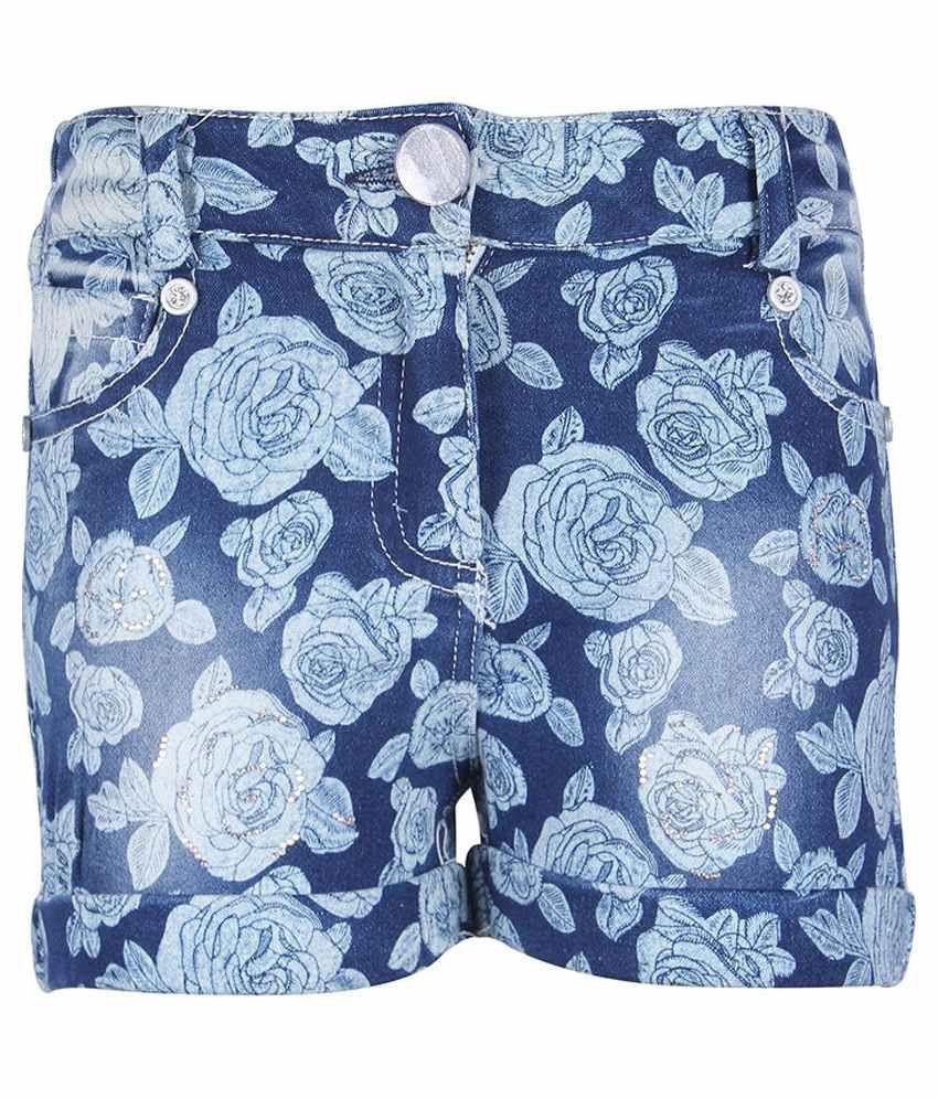 Cutecumber Blue Denim Shorts