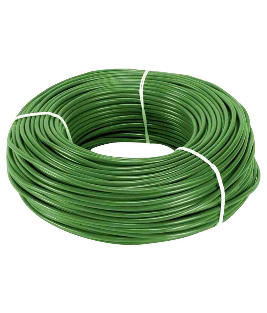Buy Eon Electric House Wire Green Online at Low Price in ... Electric House Wiring on