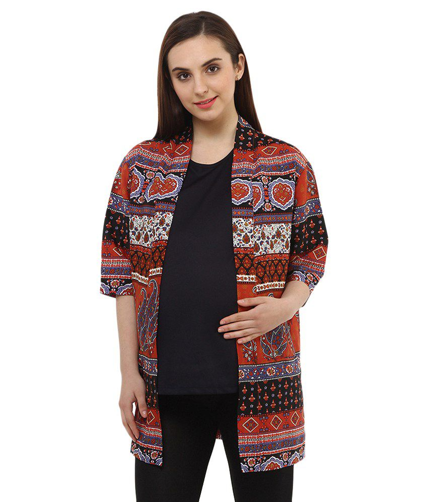 Oxolloxo Multi Color Polyester Maternity