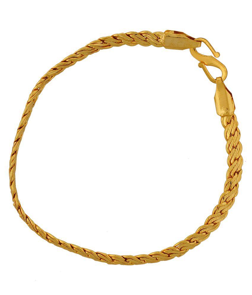 Prisha Golden Bracelet