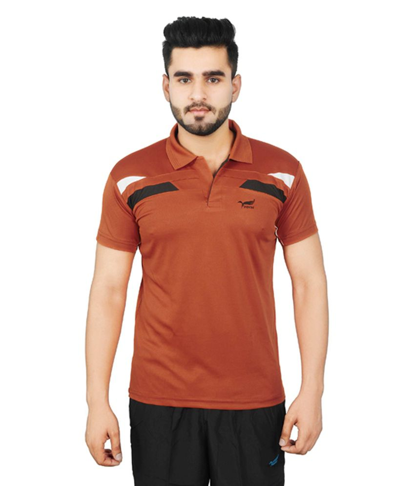 NNN Copper Half Sleeves Dry Fit Men's T-shirt