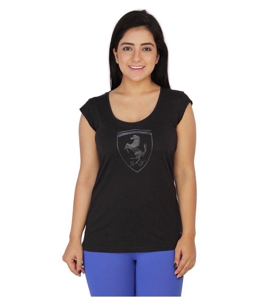Puma Black T Shirts