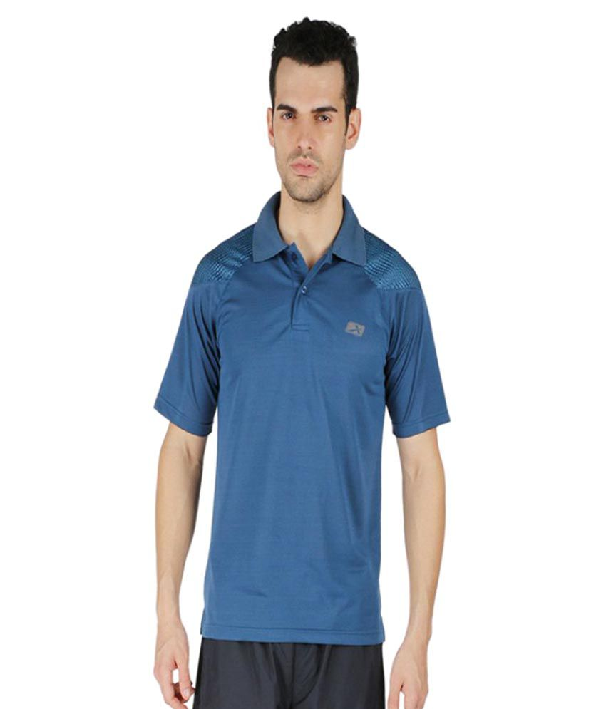 Vector X Blue Polo T-Shirt