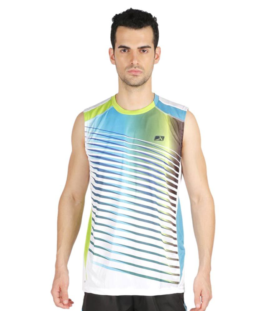 Vector X Multicolor Polyster T-Shirt