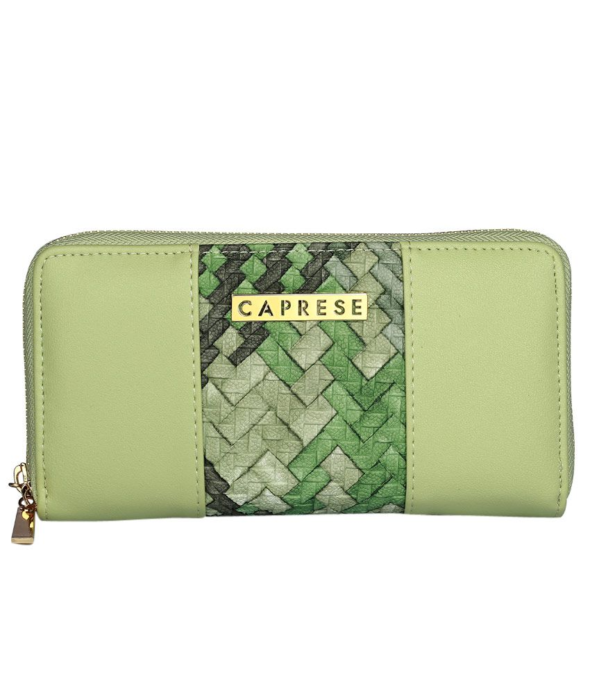 Caprese Green Wallet