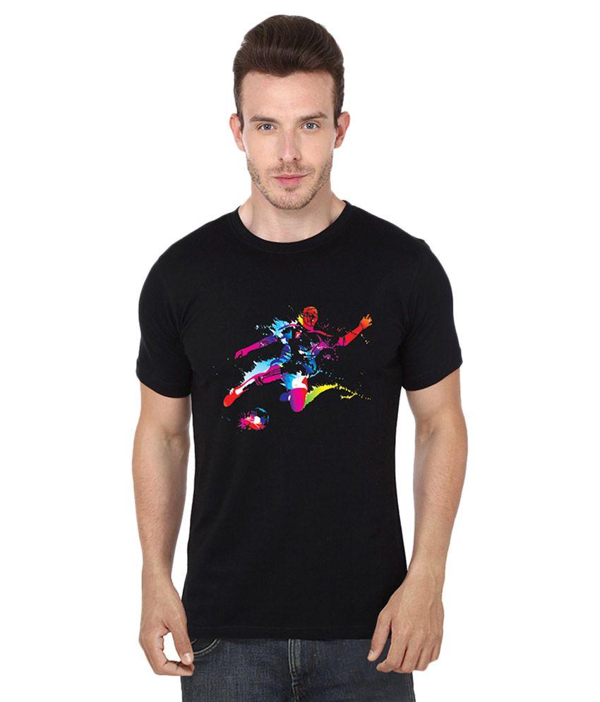 S.ENT. Black Round T-Shirt