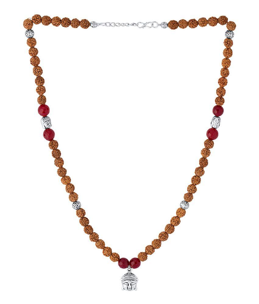 Voylla Brown Necklace