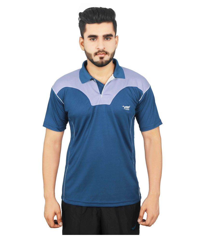 NNN Polyster Blue T-Shirt
