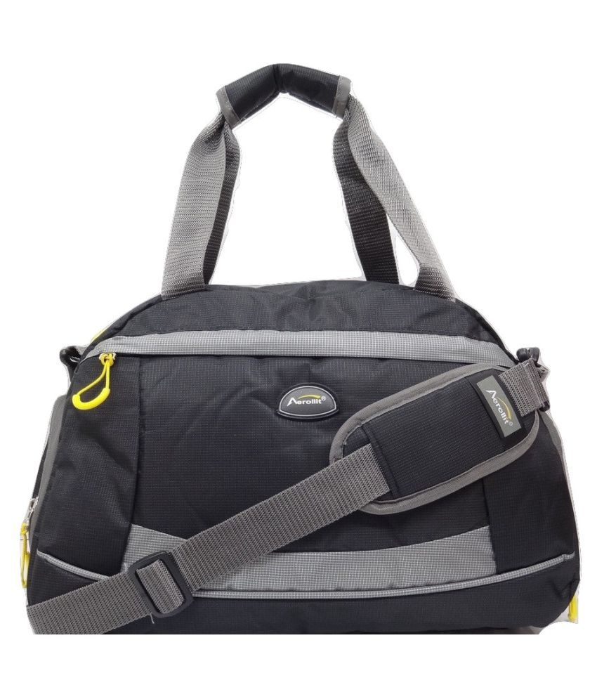 Aerollit Grey Gym Bag
