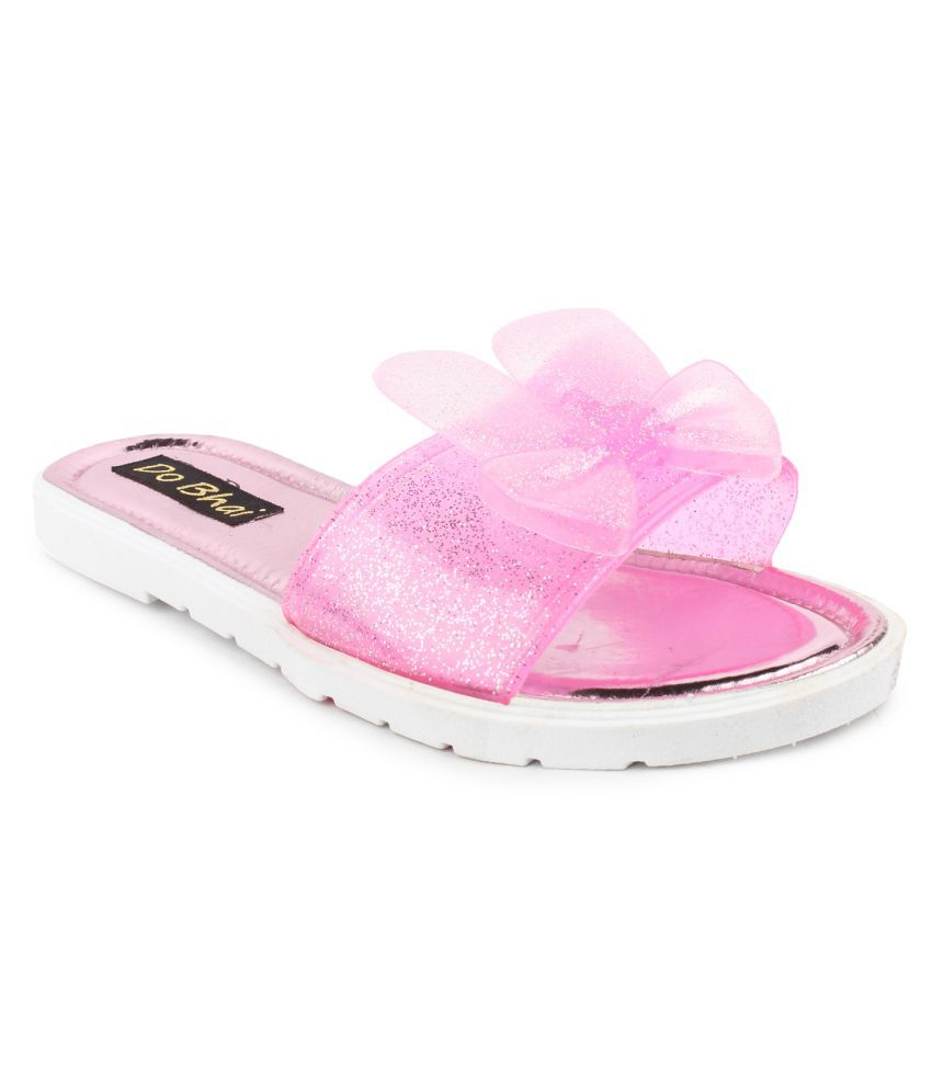Do Bhai Pink Slippers