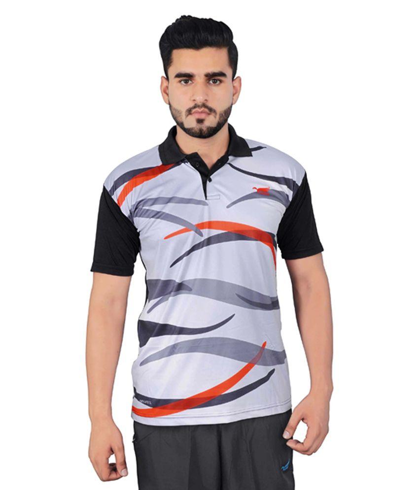 NNN Multicolour Half Sleeves Dry Fit Men's T-shirt