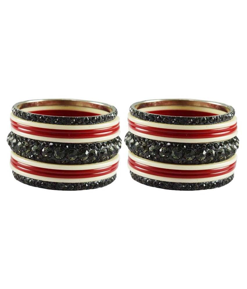 Vidhya Kangan Multicolor Bangle Set