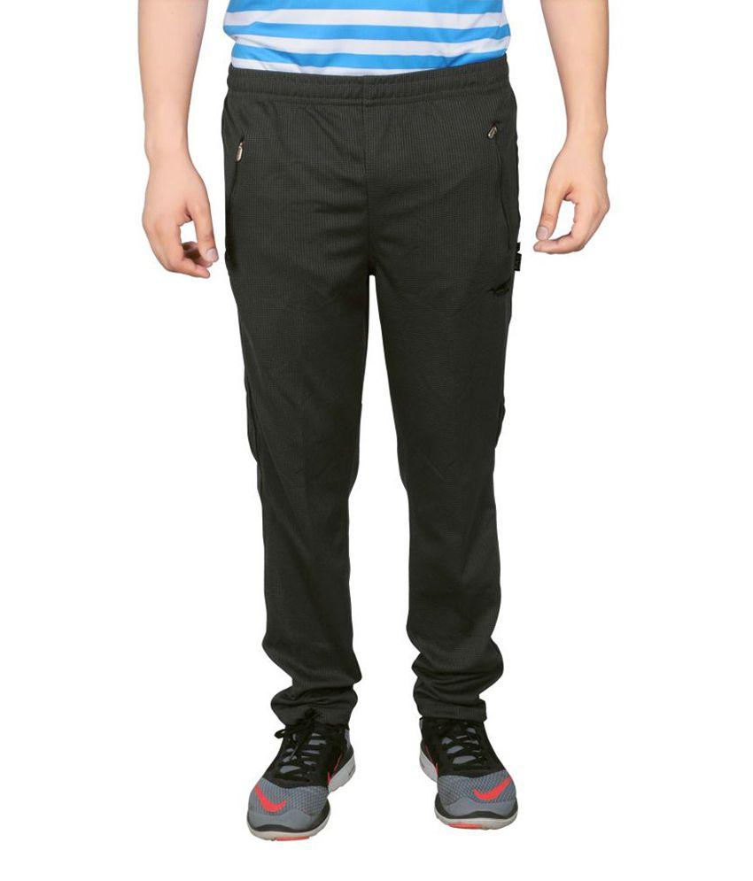NNN Balck Full Length Dry Fit Men's Track Pant