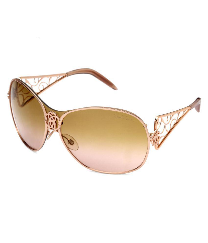 0e91b2f812 Roberto Cavalli Brown Oversized Sunglasses ( TALO 371S 772
