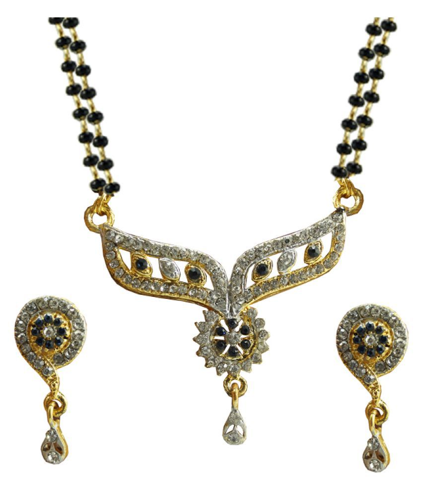 Silver ICE 92.5 Silver Mangalsutra set