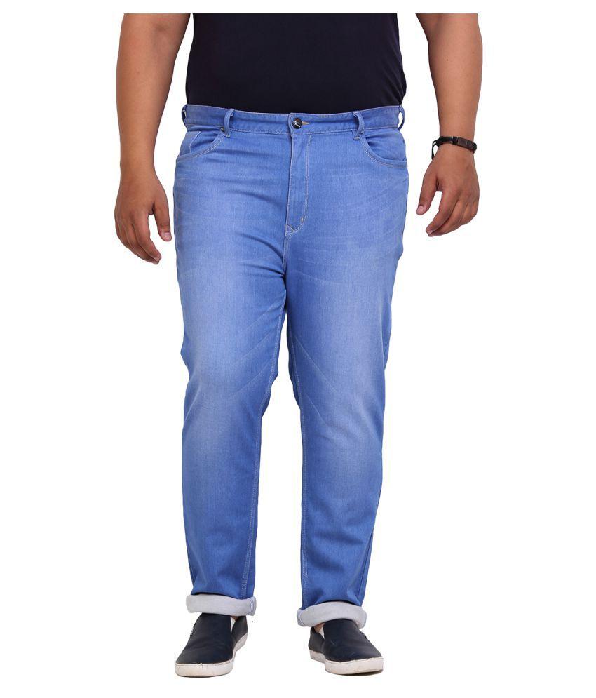 John Pride Blue Slim Solid