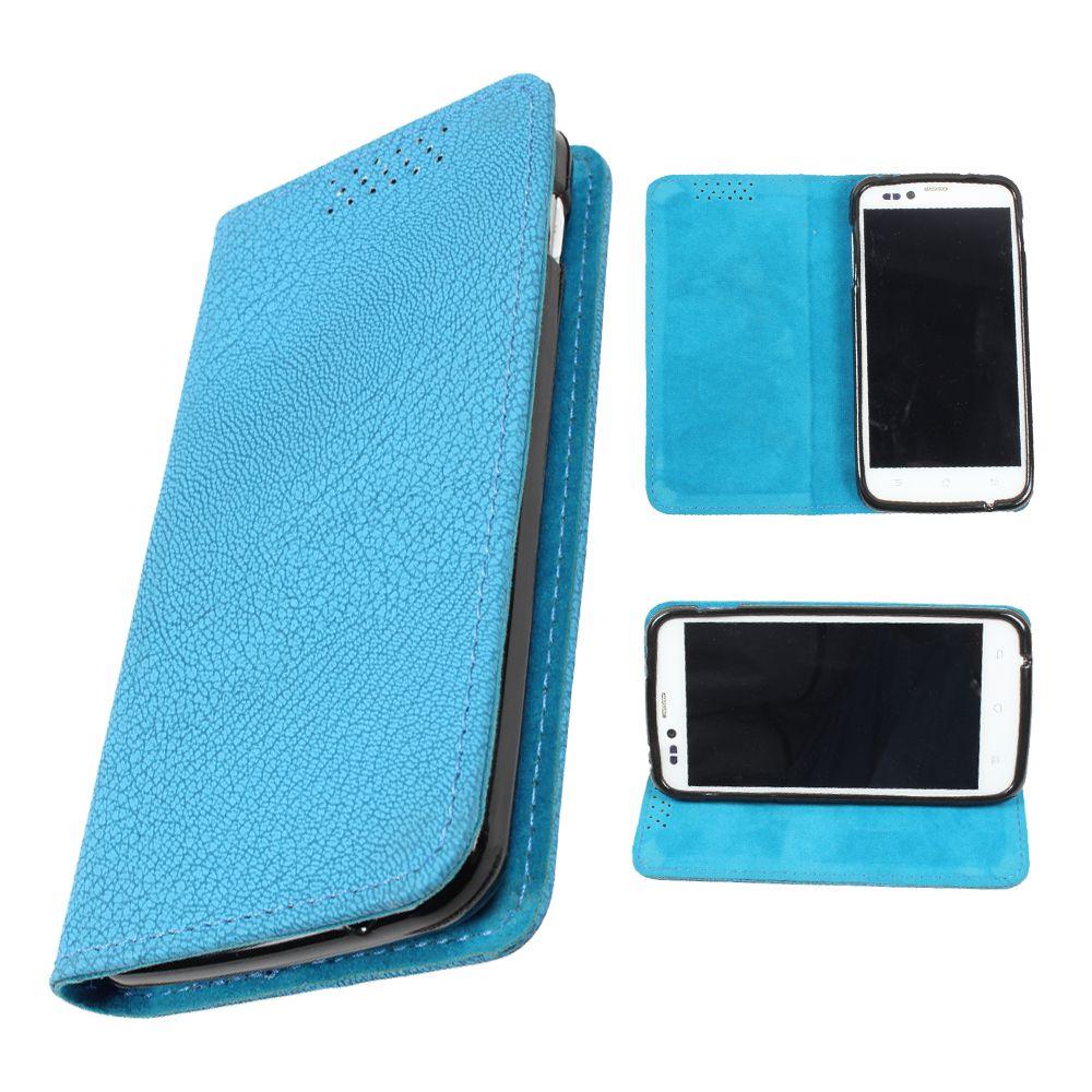 HTC One X Flip Cover by DooDa - Blue