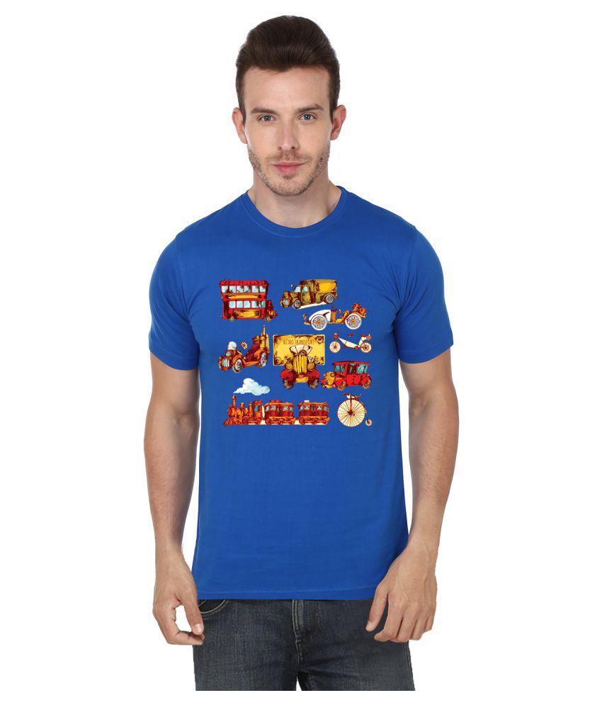 S.ENT. Blue Round T-Shirt
