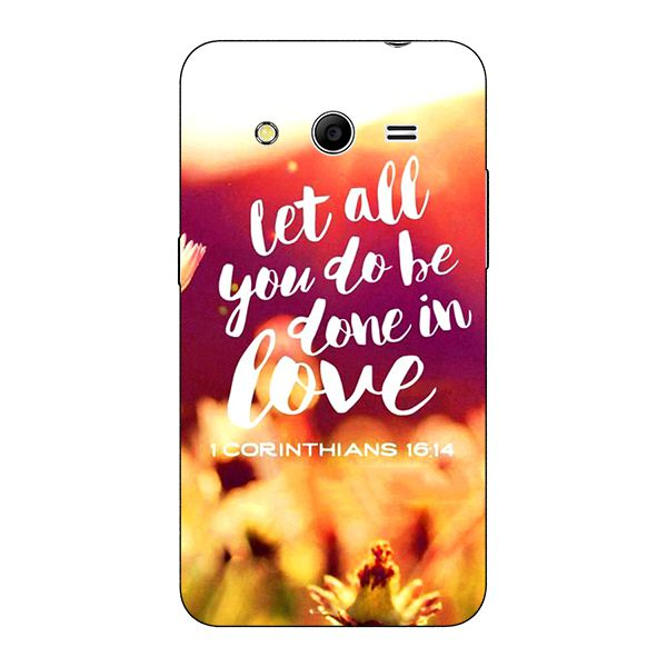 Samsung Galaxy Core 2 Printed Cover By 1 Crazy Designer