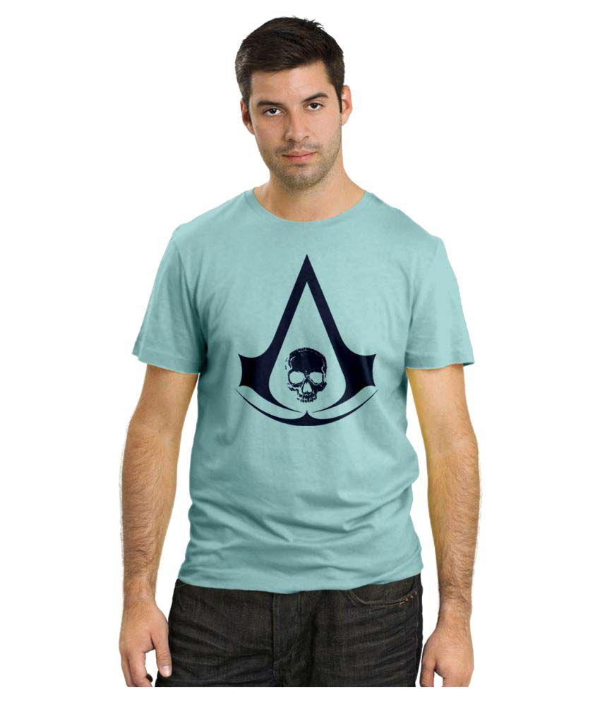 Rawpockets Blue Round T-Shirt