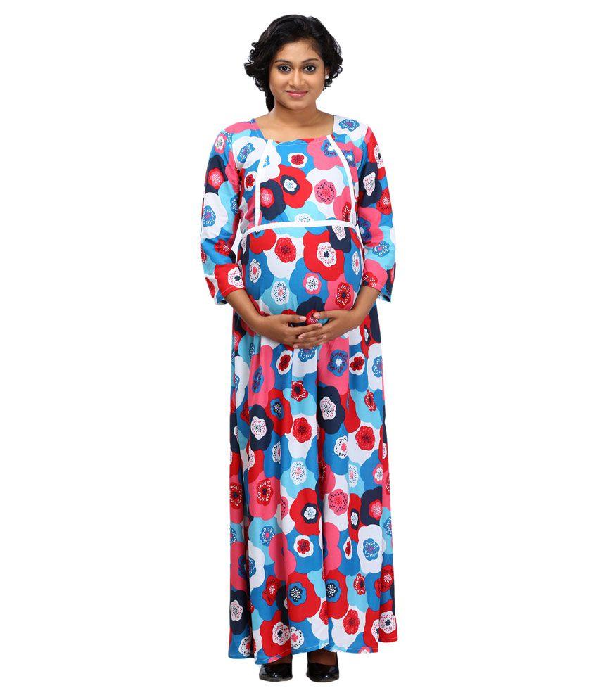 8c00b83fa886c Ziva Maternity Wear Multi Color Cotton Maternity Price in India | Buy Ziva  Maternity Wear Multi Color Cotton Maternity Online - Gludo.com