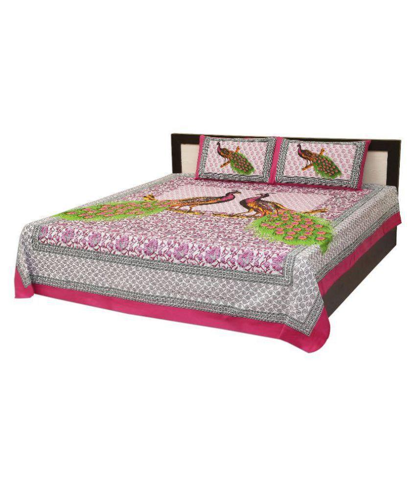 sleepwell king cotton animal bed sheet buy sleepwell king cotton