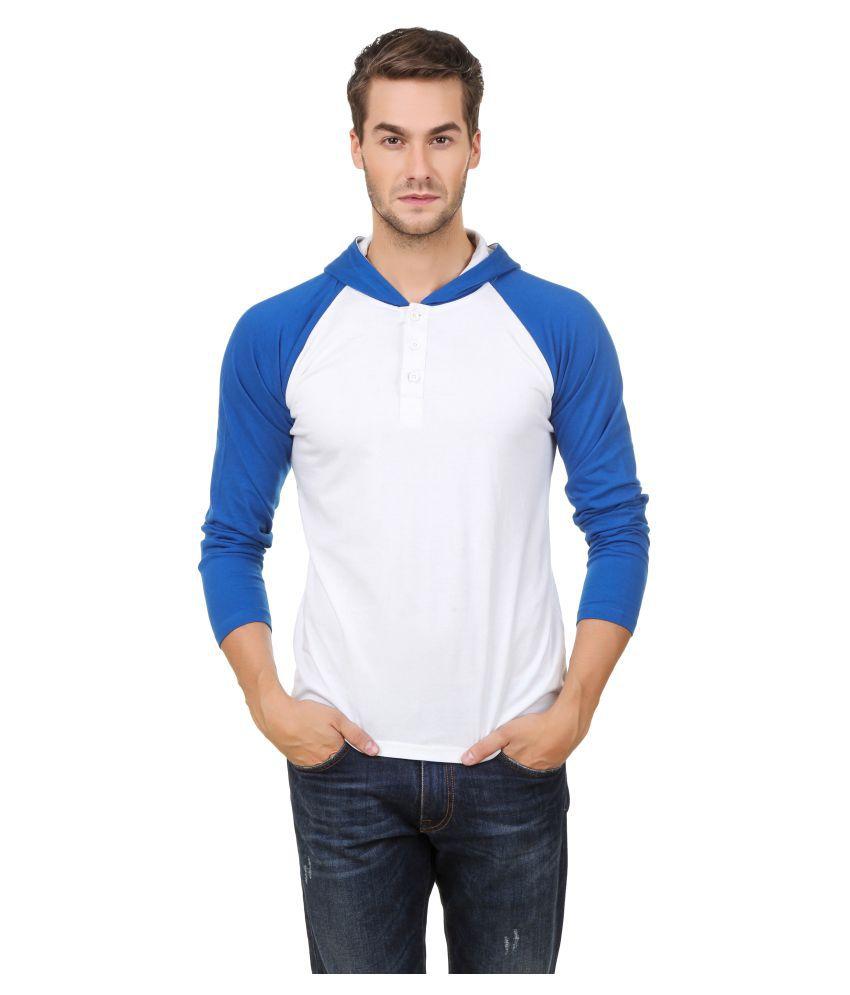 Hue Zephyr White Hooded T-Shirt