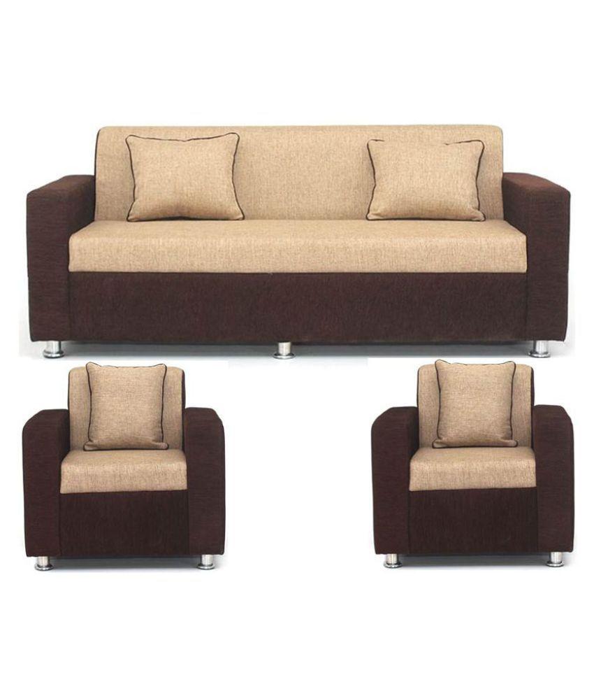 dolphin flamingo 3 1 1 sofa set buy dolphin flamingo 3 1 1 sofa rh snapdeal com