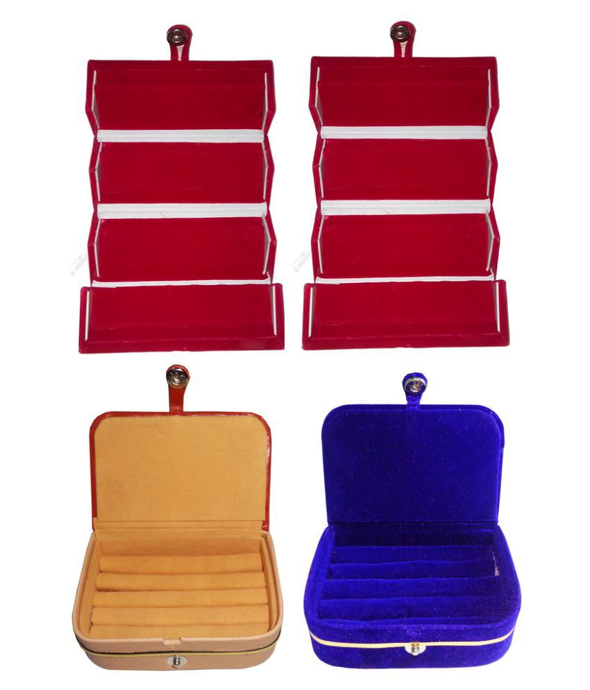 Abhinidi Multicolour Jewelley Box - Set of 4