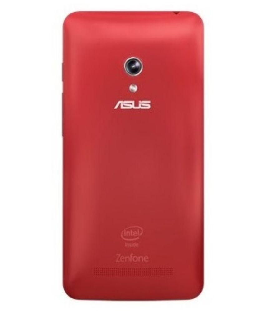 innovative design 65d8e ac316 Asus Zenfone 5 Cover by Red Qube - Red - Plain Back Covers Online at ...