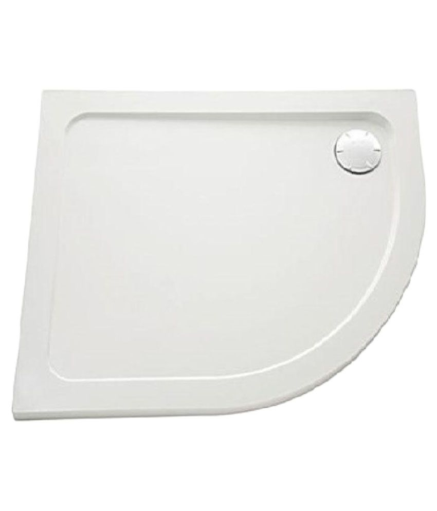 Buy Akash Acrylic Corner Shower Tray Online at Low Price in India ...