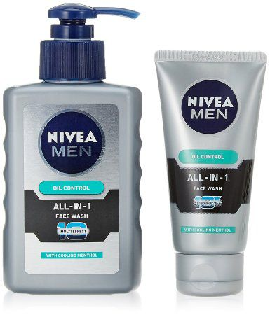 Nivea Men Oil Control All In One Pump Face Wash 150ml ... Nivea Face Wash For Men Oil Control