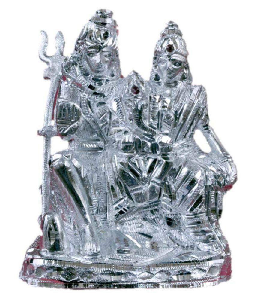 JY Shiv Pariwar Aluminium Idol