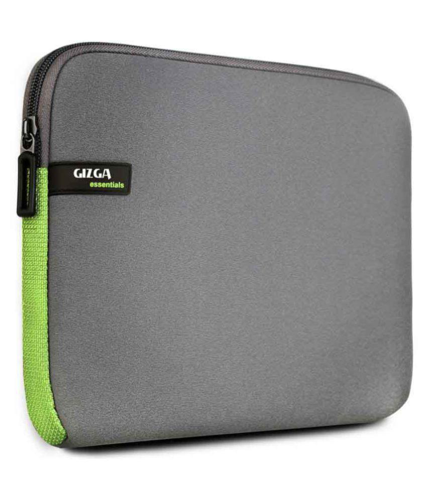 Gizga Essentials Grey Laptop Sleeve