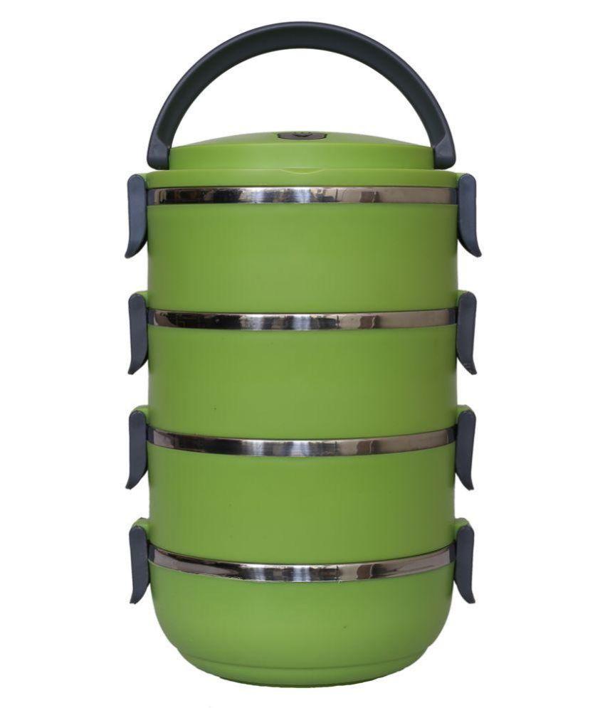 Hengli Green Stainless Steel Lunch Box