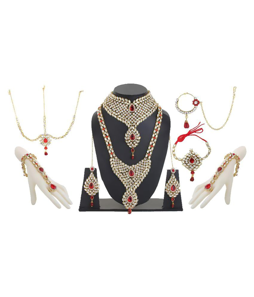 Bling N Beads Multicolour Necklace Set
