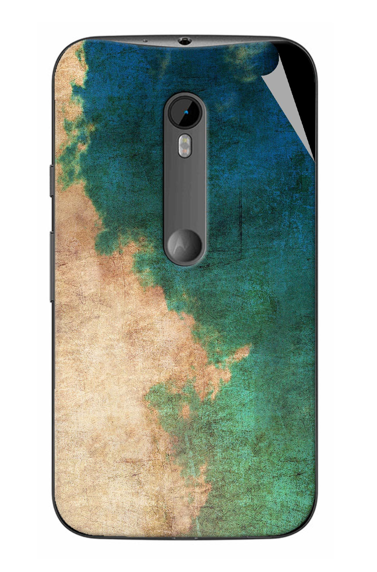 G.store Designer Skin Sticker For Moto G3 Turbo Edition