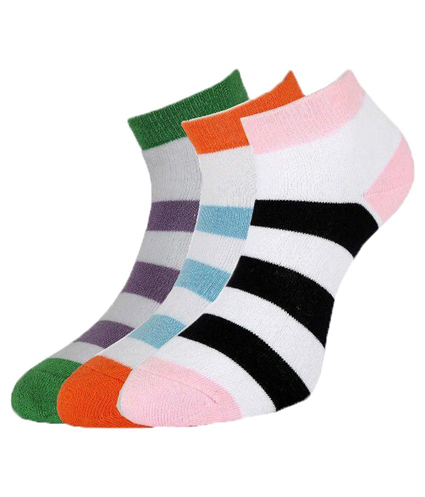 Allen Solly Multicoloured Socks - Pack of 3