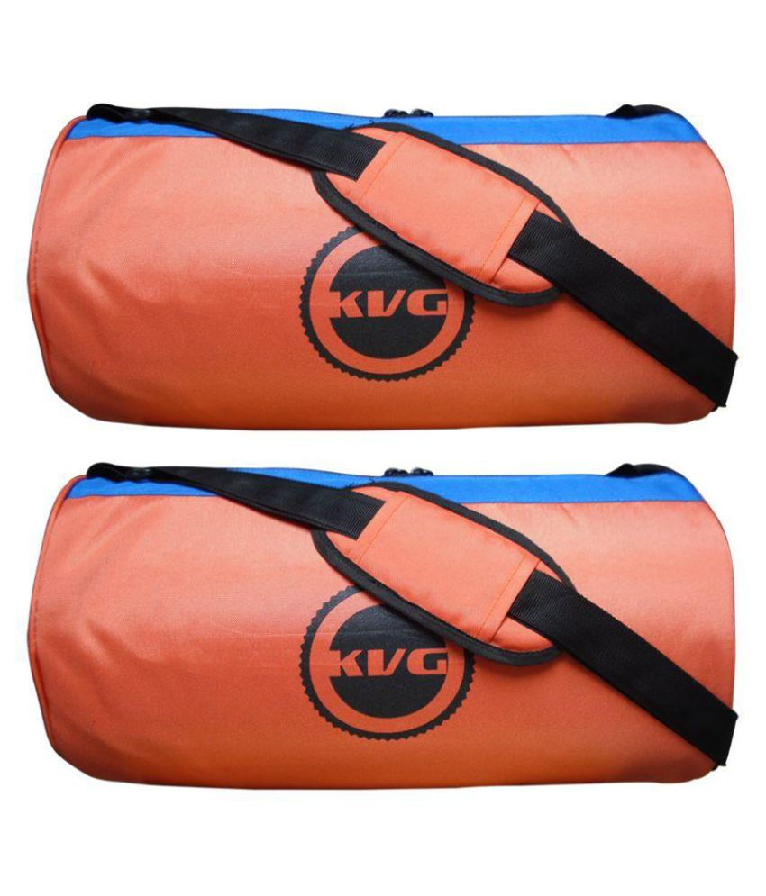 KVG Orange Gym Bag